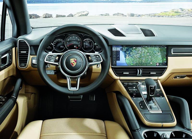 Foto Salpicadero Porsche Cayenne Suv Todocamino 2017