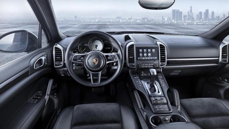 Foto Salpicadero Porsche Cayenne Platinum Edition Suv Todocamino 2016