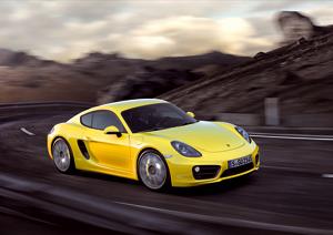 Porsche Cayman en el Salón de Los Ángeles