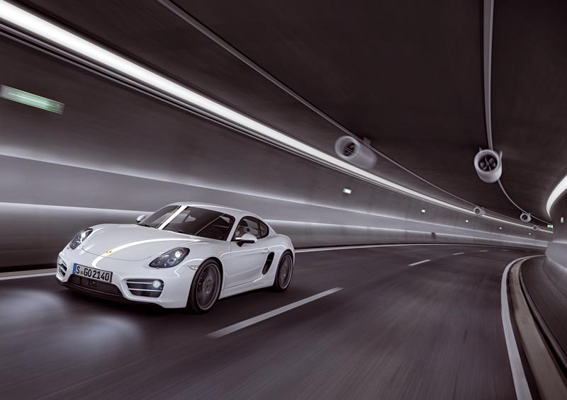 Porsche Cayman en el Salón de Los Ángeles 2012