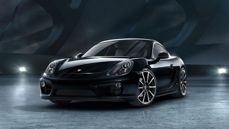 Foto Delantera Porsche Cayman Black Edition Cupe 2016