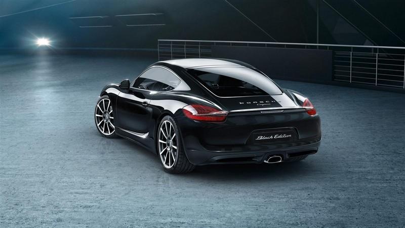 Foto Exteriores Porsche Cayman Black Edition Cupe 2016