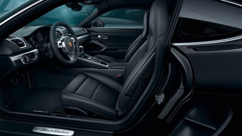 Foto Interiores Porsche Cayman Black Edition Cupe 2016