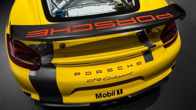 Foto Detalles Porsche Cayman Gt4 Clubsports Coupe 2016