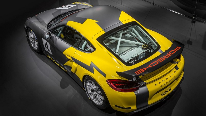 Foto Exteriores Porsche Cayman Gt4 Clubsports Coupe 2016