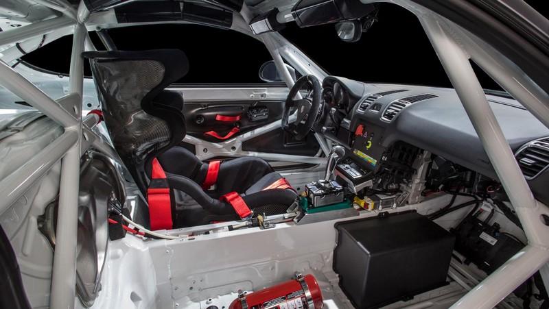 Foto Interiores Porsche Cayman Gt4 Clubsports Coupe 2016