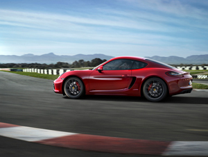 Foto Lateral Porsche Cayman-gts Cupe 2014