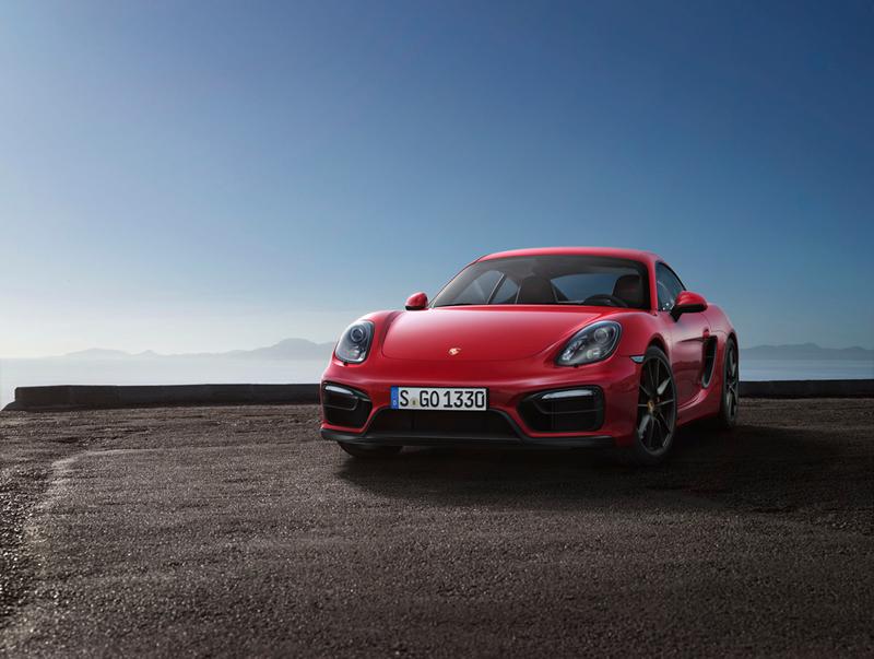 Foto Delantera Porsche Cayman-gts Cupe 2014