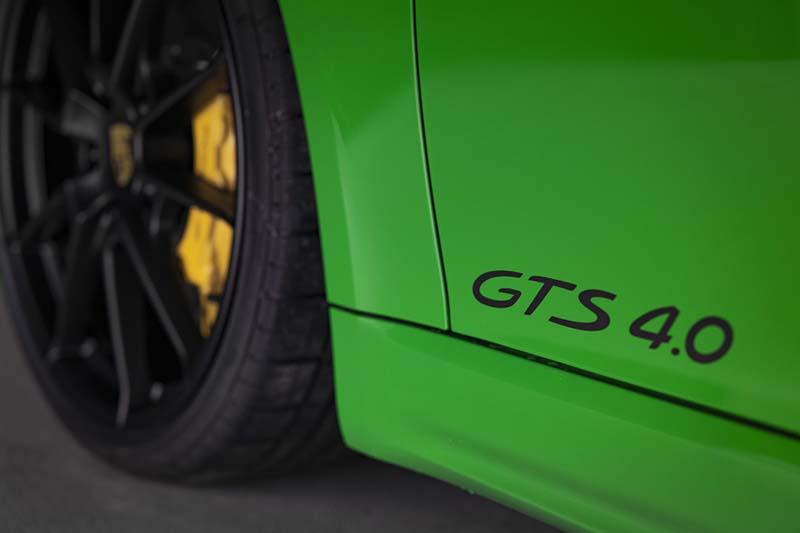 Porsche 718 Cayman GTS 2020, foto frenos carbocerámicos