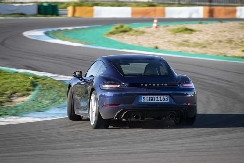 Porsche 718 Cayman GTS 2020, foto trasera