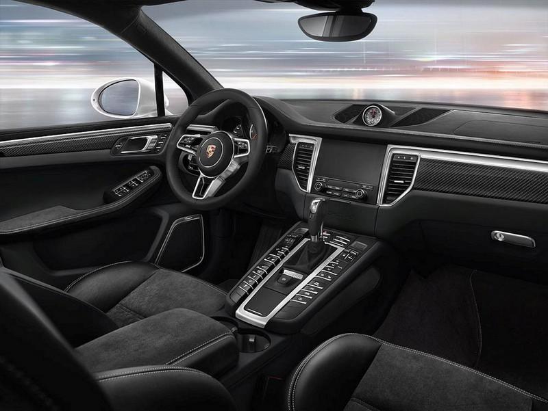Foto Salpicadero Porsche Macan Suv Todocamino 2016