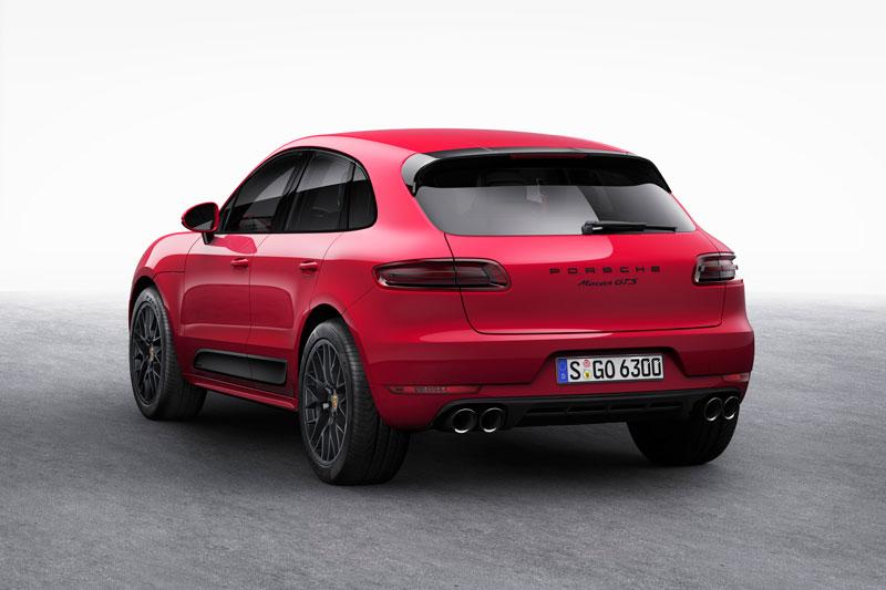 Foto Trasera Porsche Macan Gts Suv Todocamino 2015
