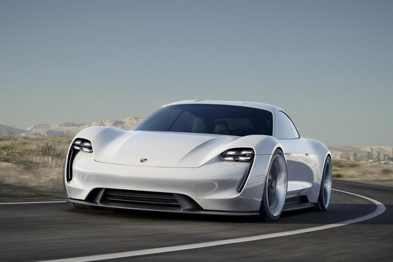 Foto Exteriores Porsche Mission E Concept 2015