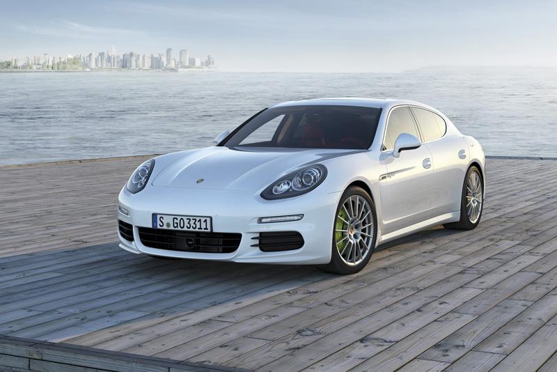 Foto Delantera Porsche Panamera Sedan 2013