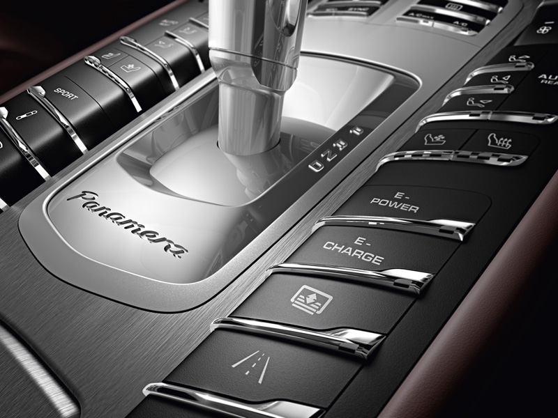 Foto Interiores Porsche Panamera Sedan 2013