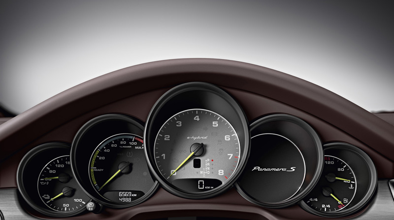 Foto Salpicadero Porsche Panamera Sedan 2013