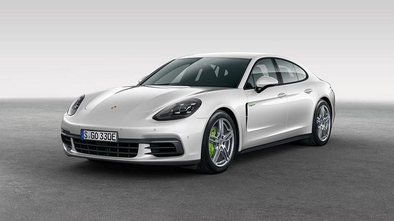 Foto Exteriores Porsche Panamera 4 E Hybrid Sedan 2017