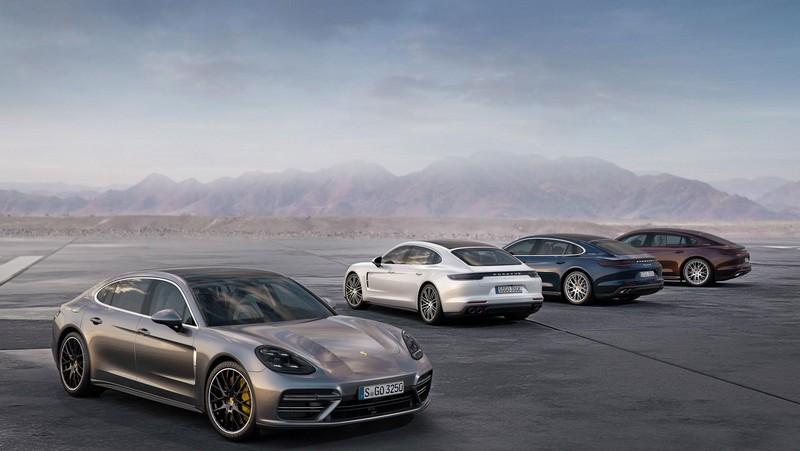 Foto Exteriores Porsche Panamera Executive Sedan 2017