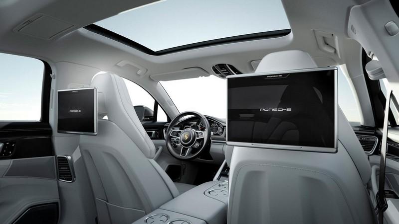 Foto Interiores Porsche Panamera Executive Sedan 2017