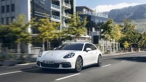 Foto Delantera Porsche Panamera-sport-turismo Berlina 2018