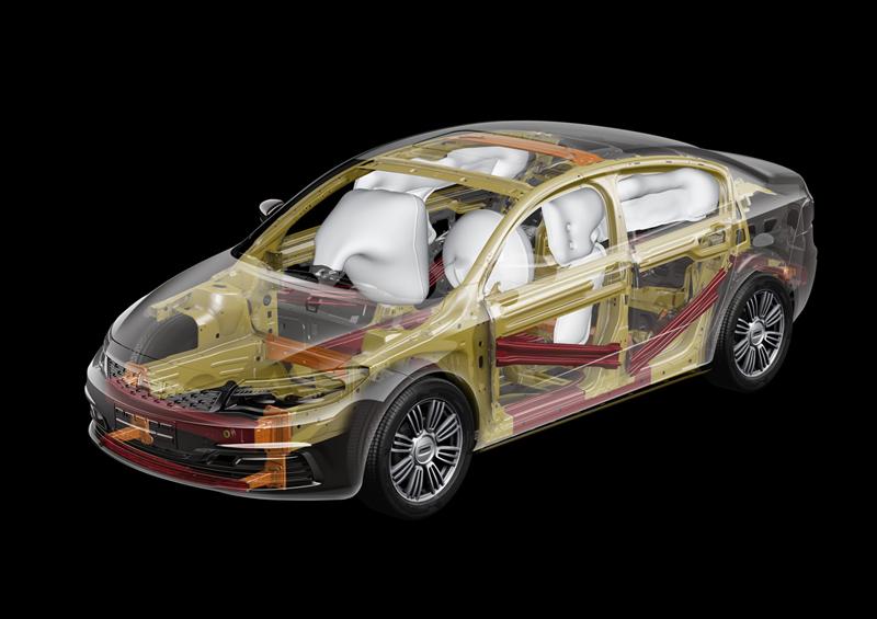 Qoros 3 sedan en el Salón de Ginebra 2013