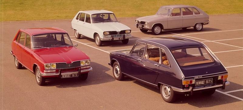 Gama completa Renault 16