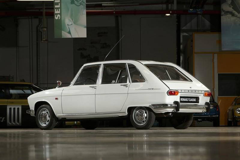 Renault 16 - Vista trasera