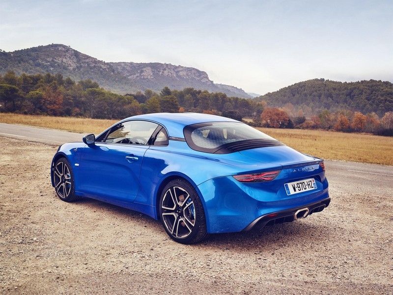 Foto Exteriores Renault Alpine A110 Cupe 2018