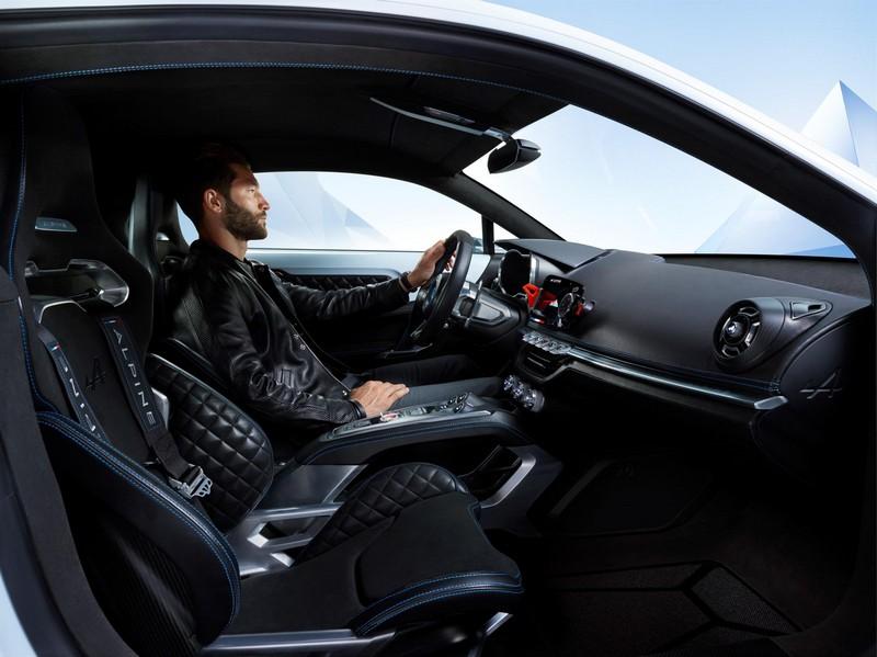 Foto Interiores Renault Alpine Vision Concept 2016