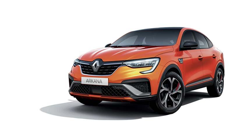 Foto Delantera Renault Arkana Suv Todocamino 2021