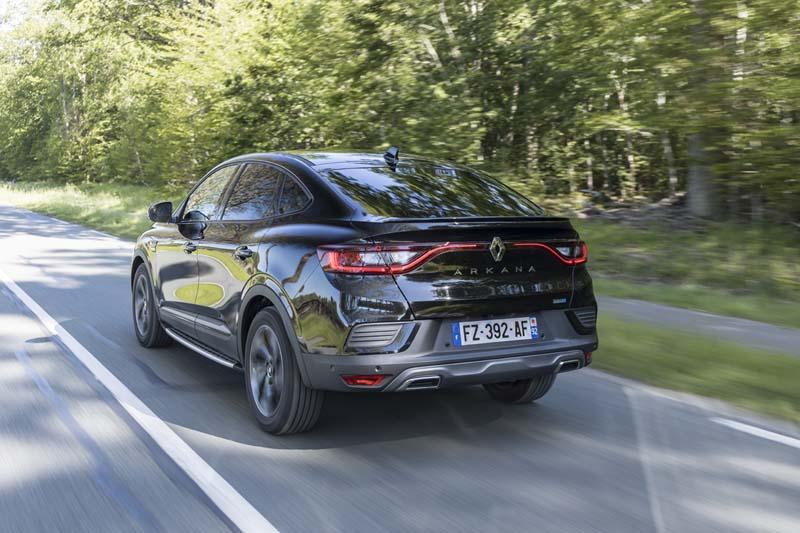 Renault Arkana E TECH Híbrido, foto trasera
