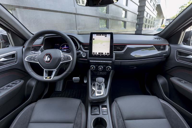 Renault Arkana E TECH Híbrido, foto salpicadero