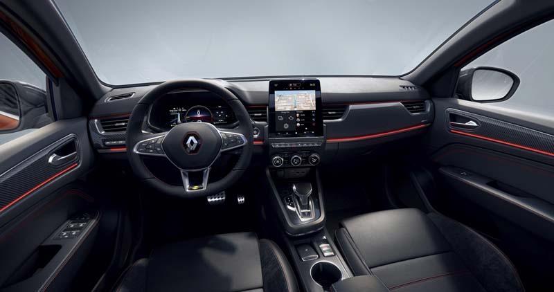 Foto Salpicadero Renault Arkana Suv Todocamino 2021