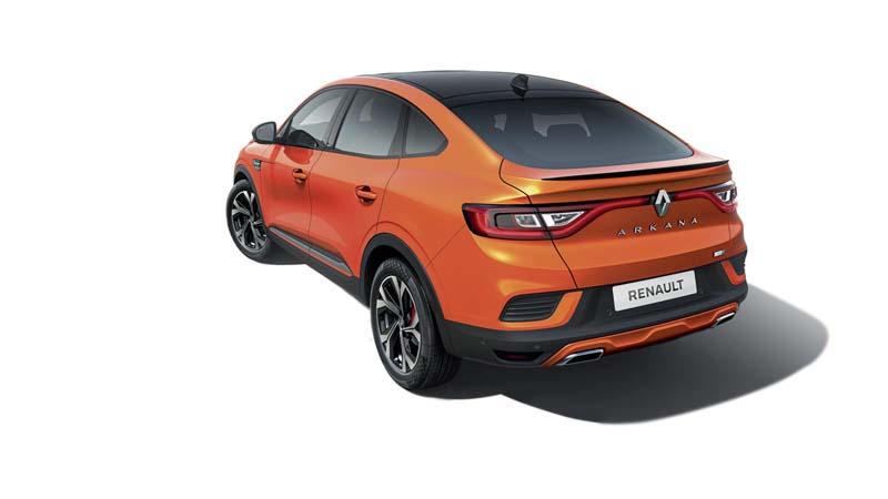 Foto Trasera Renault Arkana Suv Todocamino 2021