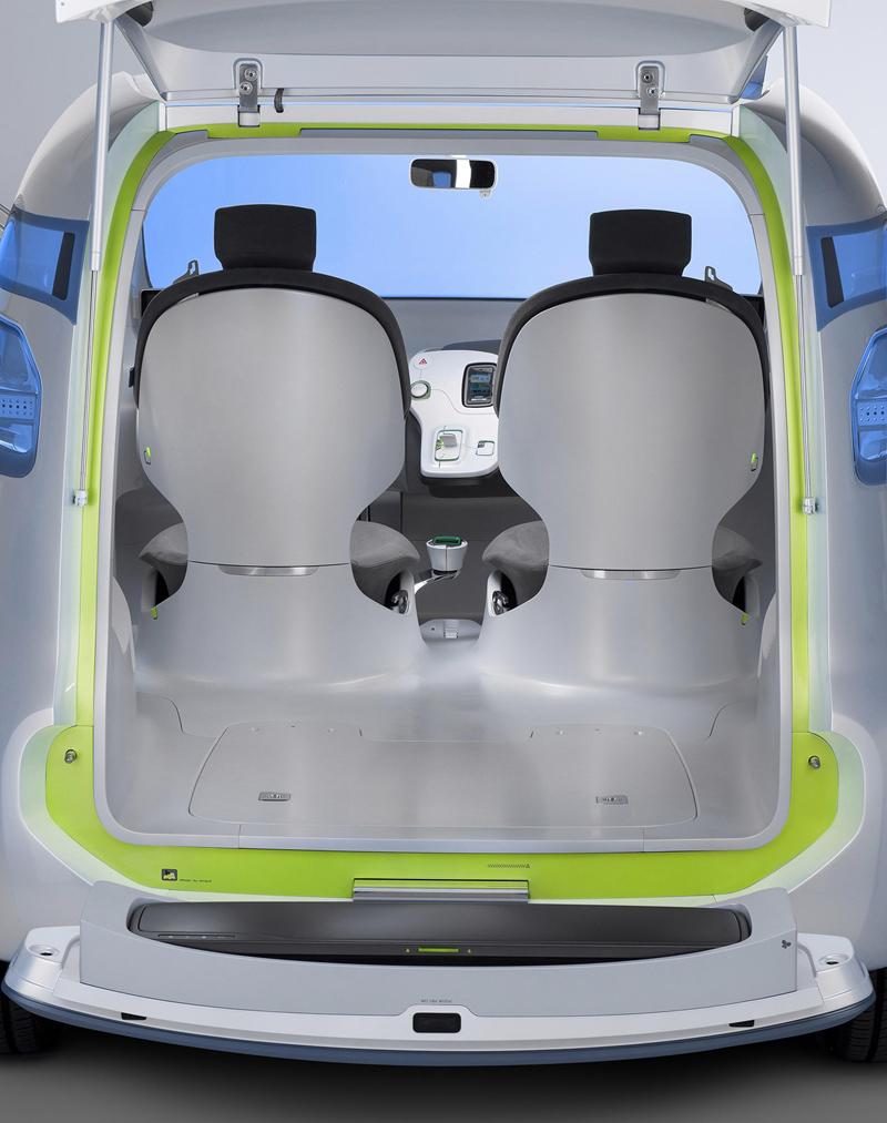 Foto Interiores Renault Bebop Monovolumen 2010