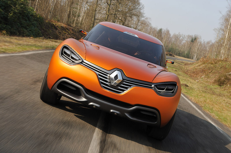 Foto Frontal Renault Captur Cupe 2011