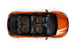 Salpicadero del Renault Captur