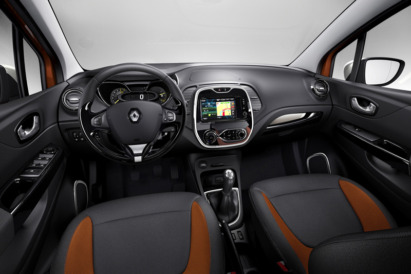 Renault Captur, salpicadero