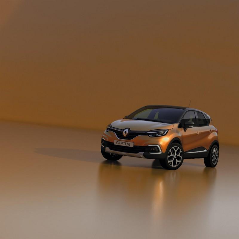 Renault Captur 2017 vista delantera