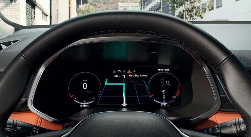 Renault Captur 2020, foto cuadro de mandos