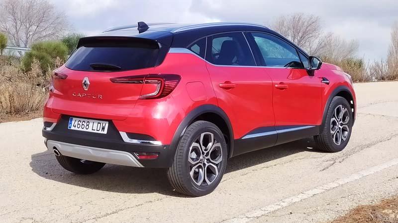 Renault Captur 2020, foto trasera