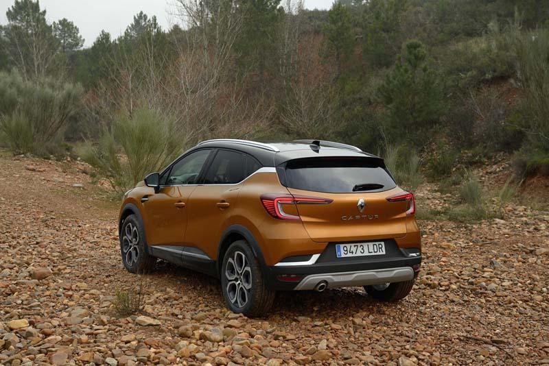 Foto Exteriores (16) Renault Captur Suv Todocamino 2020