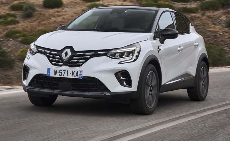 Renault Captur 2020, foto delantera