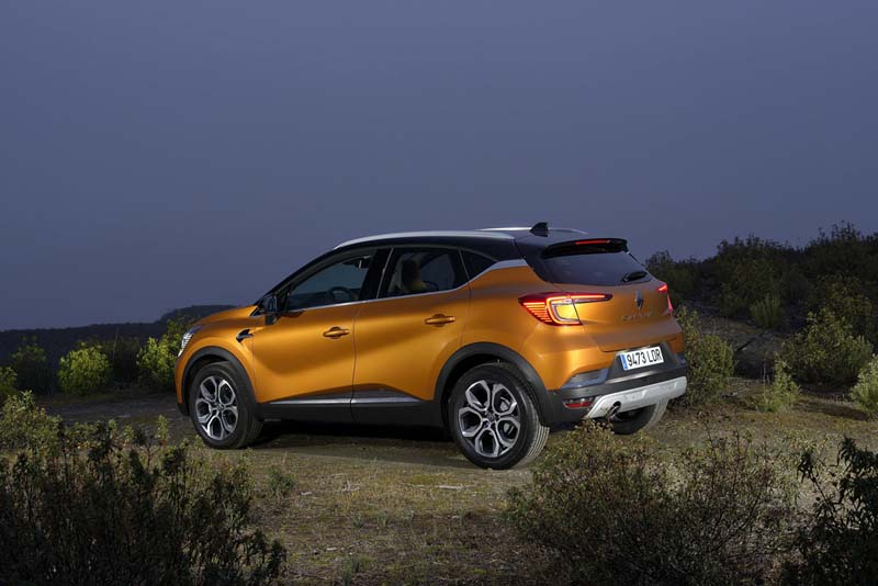 Foto Exteriores (9) Renault Captur Suv Todocamino 2020
