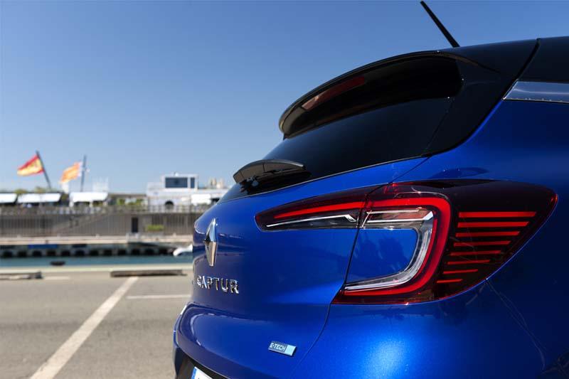 Foto Detalles Renault Captur Hibrido Suv Todocamino 2021