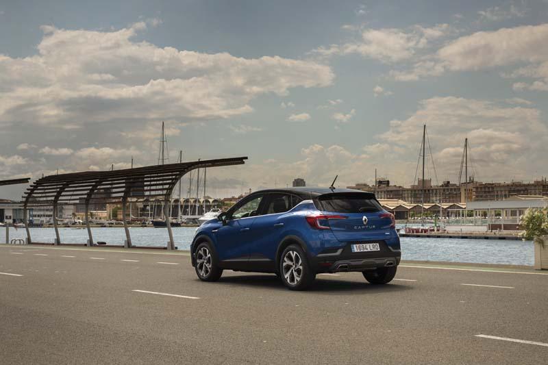 Foto Exteriores Renault Captur Hibrido Suv Todocamino 2021