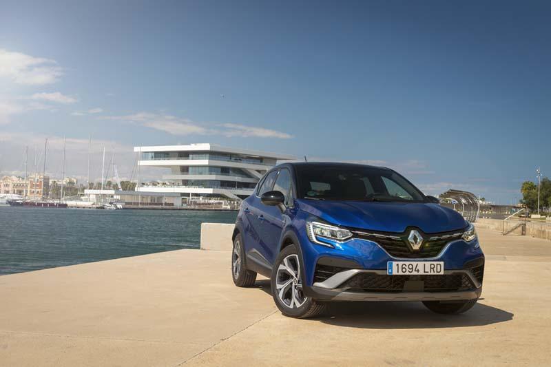 Renault Captur E TECH Híbrido, foto delantera