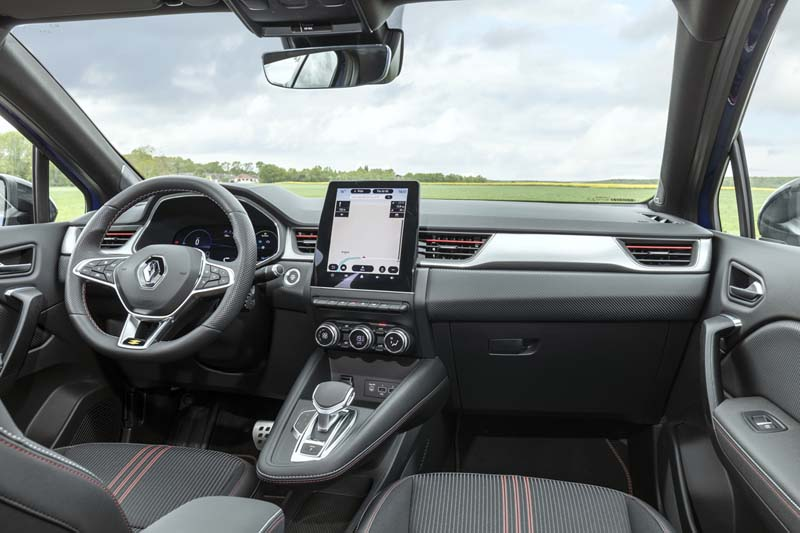 Foto Salpicadero Renault Captur Hibrido Suv Todocamino 2021