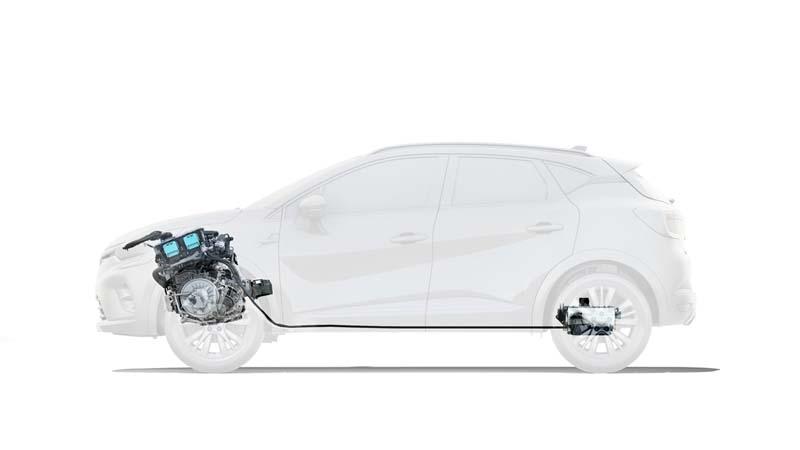 Foto Tecnicas Renault Captur Hibrido Suv Todocamino 2021