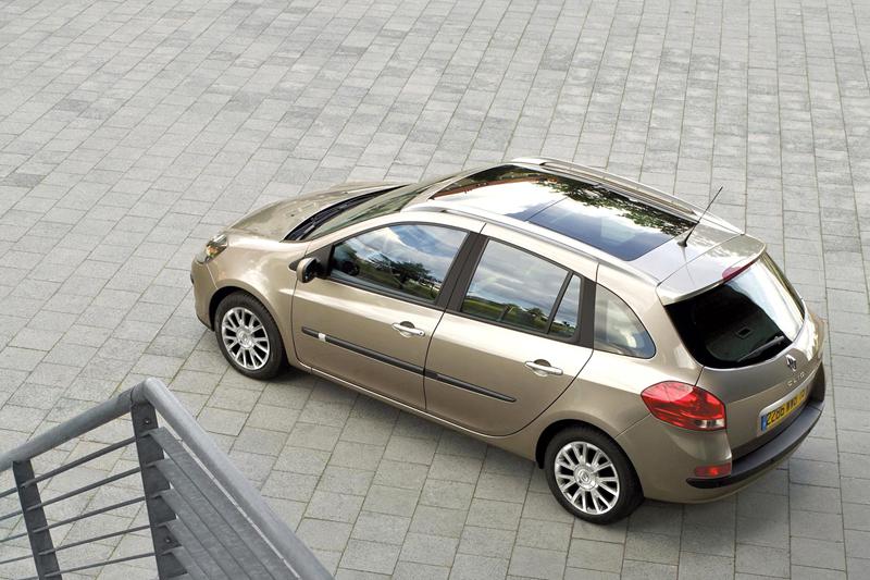 Foto Lateral Renault Clio Familiar 2008